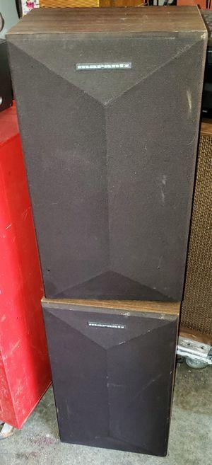 Pair of Vintage Marantz Model 4 MK II Stereo Speakers for Sale in Sacramento, CA