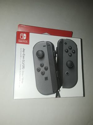 NEW Nintendo Switch Gray Joycons for Sale in Somerset, NJ