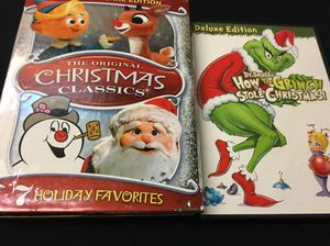 Christmas movie collection grinch ruldolph for Sale in Tacoma, WA