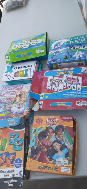 Games and Puzzles for Sale in San Bernardino, CA
