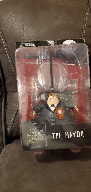 Tim burton's the nightmare before Christmas the mayor for Sale in Ridgefield Park, NJ