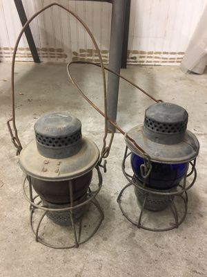 Penn Central Antique Railroad Lamps for Sale in Havertown, PA