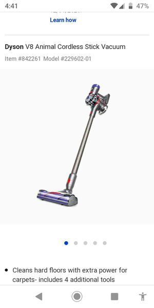 Dyson cordless V8 animal for Sale in Bluff City, TN