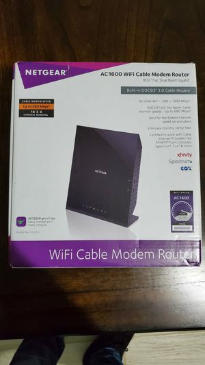 Netgear modem router ac1600 for Sale in Spring, TX