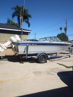 Chaparral 198 XL boat for Sale in Riverside, CA