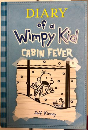 Diary of the Wimpy Kid Cabin Fever Hardcover Book New for Sale in Irvine, CA