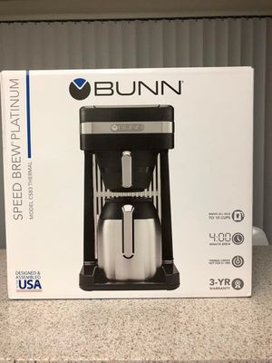 NEW Bunn Coffee Maker $135 for Sale in Buena Park, CA