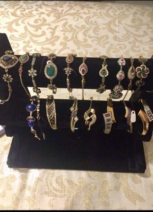 New handmade sterling silver bracelets for Sale in Fairfax, VA