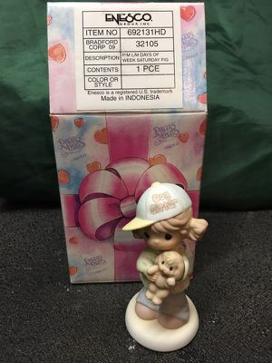 Precious Moments Days of the Week Saturday Figurine for Sale in East Alton, IL
