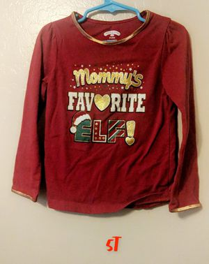 5T Mommy's Favorite Elf Shirt for Sale in Tolleson, AZ