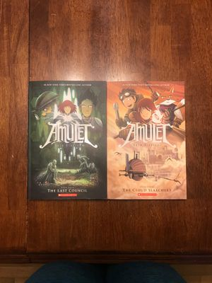 Amulet books three and four for Sale in Camas, WA