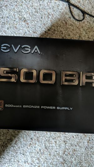 Evga 500w power supply for Sale in Aberdeen, WA