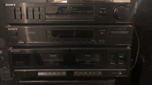 Vintage Sony Tuner with Cassette Deck for Sale in Chicago, IL