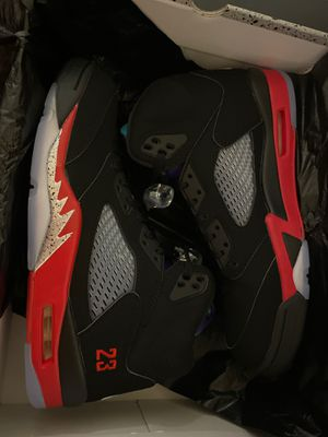 Jordan 5 retro top 3 for Sale in Burbank, CA