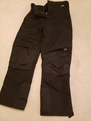 Mens snow, ski ,snowmobile Pants ,black, brand new, size large. for Sale in Des Plaines, IL