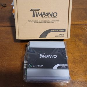 TIMPANO 800WATTS 2 Ohm PERFECT FOR SUBWOOFERS, HORN DRIVERS, TWEETERS AND MORE for Sale in The Bronx, NY