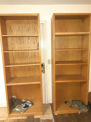 Tall wooden shelves for Sale in Tampa, FL