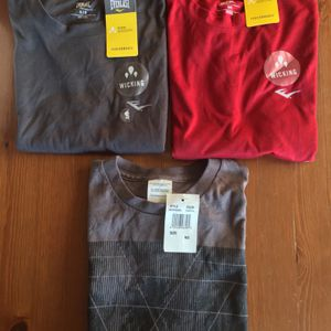 (NEW) (SET OF 3) MEN'S T-SHIRTS - SIZE: (2) SMALL, (1) MEDIUM (YOU MUST BUY THE WHOLE SET) for Sale in Long Beach, CA