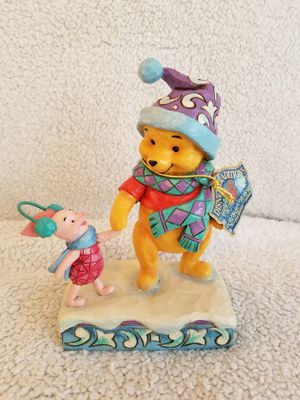 Disney World Parks Winnie the Pooh and Piglet Holiday Figurine for Sale in Celebration, FL