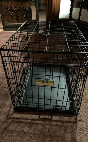 """Dog crate """"24"""" double door size s/m for Sale in Chicago, IL"""