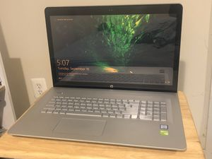 HP Envy 17' Notebook for Sale in Washington, DC