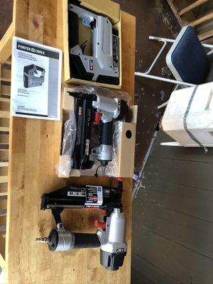 Porter Cable Nail Guns & Stapler for Sale in San Leandro, CA