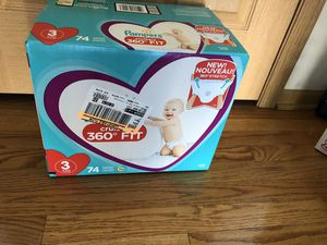 Pampers 360 Fit - size 3 for Sale in Harvey, IL