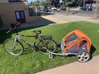 instep double bike trailer for Sale in Alameda,  CA