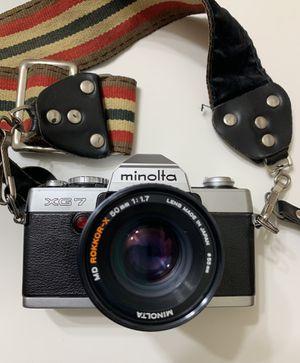 Minolta XG-7 35mm film camera with strap for Sale in Mesa, AZ