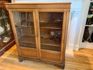 "Antique Solid Cherry Book Cabinet 42""x 15"" x 51"" for Sale in Alexandria, VA"