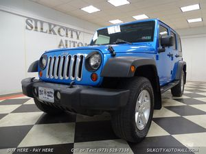 2010 Jeep Wrangler Unlimited Sport 4x4 Hard Top for Sale in Paterson, NJ