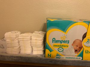 Pampers newborn diapers for Sale in Yorba Linda, CA