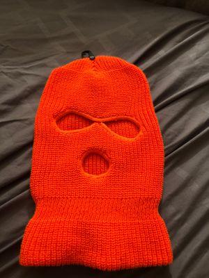 vintage orange ski mask. READ DESCRIPTION!! for Sale in East Point, GA
