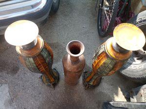 Flower pot stands & vase for Sale in Riverside, CA