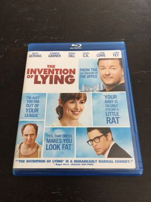 The Invention of Lying Blu-Ray With Ricky Gervais, Jennifer Garner and Louis CK for Sale in South Pasadena, CA