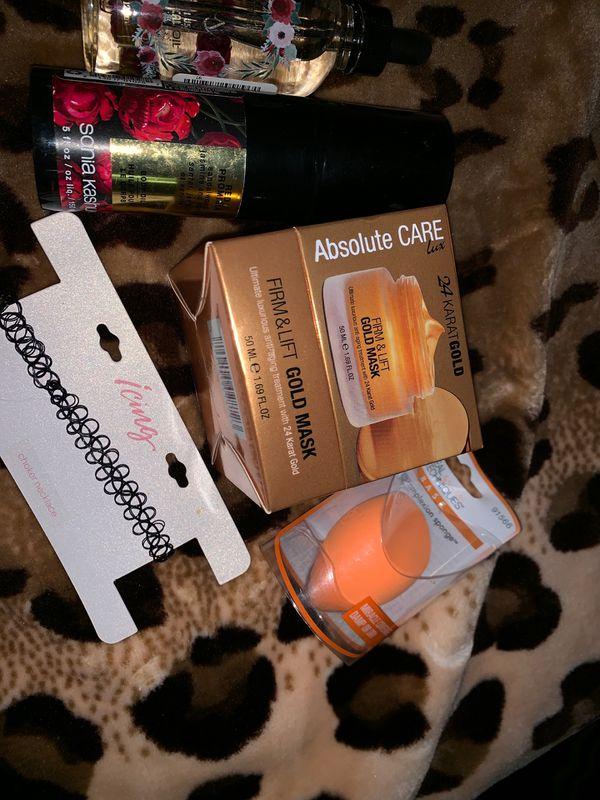 random beauty products