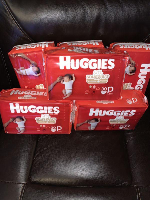 Huggies little snugglers size preemie