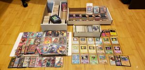 POKEMON YUGIOH MARVEL COMIC CARD COLLECTION for Sale in San Leandro, CA