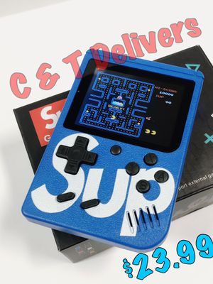 🎄 Regalo Ideal 🎄 400 in 1 Game Box • Rechargeable • Portable • Mucho FUN • Play Mario - Contra - Pacman & More 🚕 Delivery Available** 🚕 for Sale in Los Angeles, CA