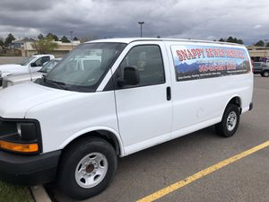 2012 Chevy cargo van 2500 Express. for Sale in Aurora, CO