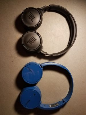 Jbl and Sony headphones wireless for Sale in Linden, CA