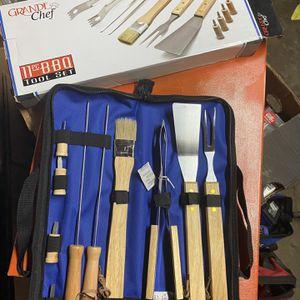 Grand Chef 11pc BBQ tool Set for Sale in Rialto, CA