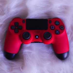 Hot Pink - DUAL SHOCK 4 - Wireless Bluetooth Custom PlayStation Controller - PS4 / PS3 / PC for Sale in Riverside, CA