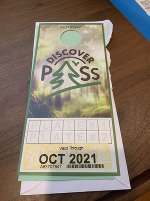 NEW - Discover Pass for Sale in Seattle, WA
