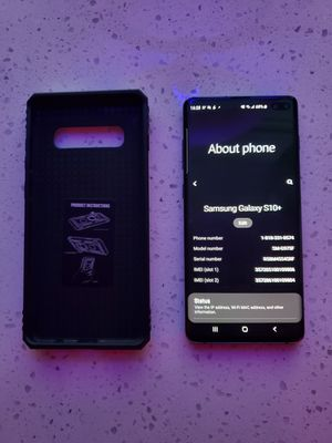 Samsung Galaxy S10+ 128gb Unlocked for Sale in Las Vegas, NV