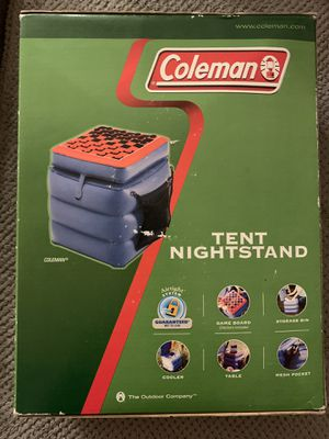 Coleman Camping Tent Nightstand storage cooler brand new for Sale in Poway, CA