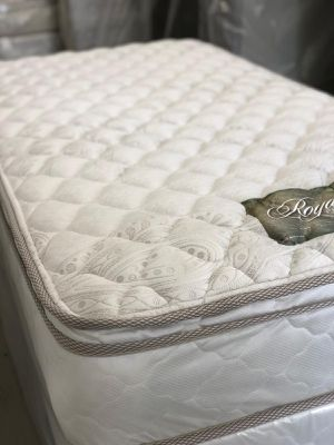 Twin size bed Royal luxury collection, brand new mattress . for Sale in San Diego, CA