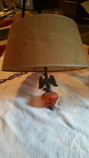 Antique hanging lamp for Sale in Milwaukie, OR