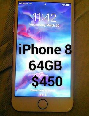 Iphone 8 for pick up for Sale in Baltimore, MD
