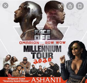Millennium Tour Tickets - Philadelphia 4 tickets for Sale in Philadelphia, PA